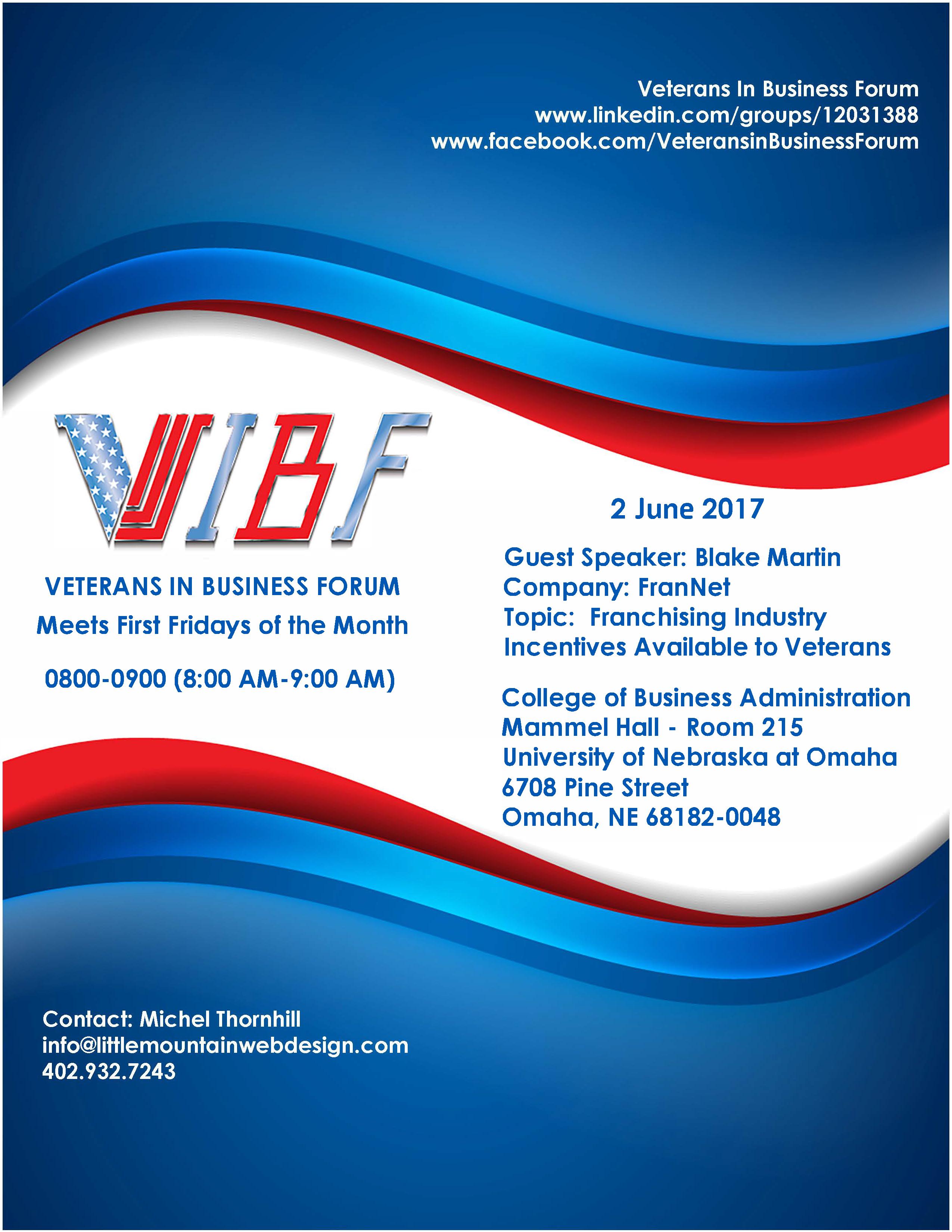 VIBFflyer2017June2